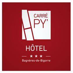 Logotype Carré Py' Hôtel