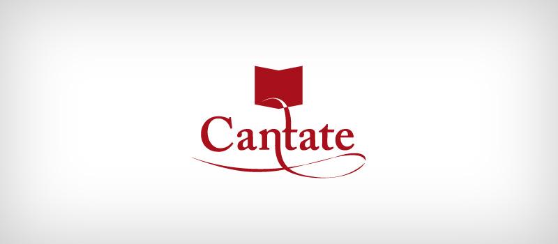 Logotype Cantate finalisé