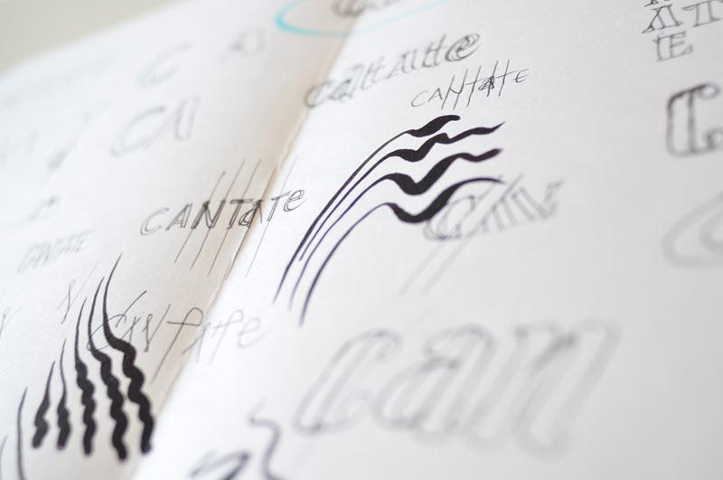 Création logo Lyon - recherches graphiques